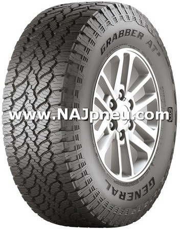 Letné Pneumatiky, SUV/crossover + OFFRoad-ové General Tire GRABBER AT3